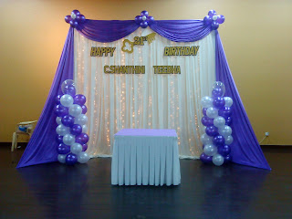 Raags Management Services 21st Birthday  Wedding Dinner Deco