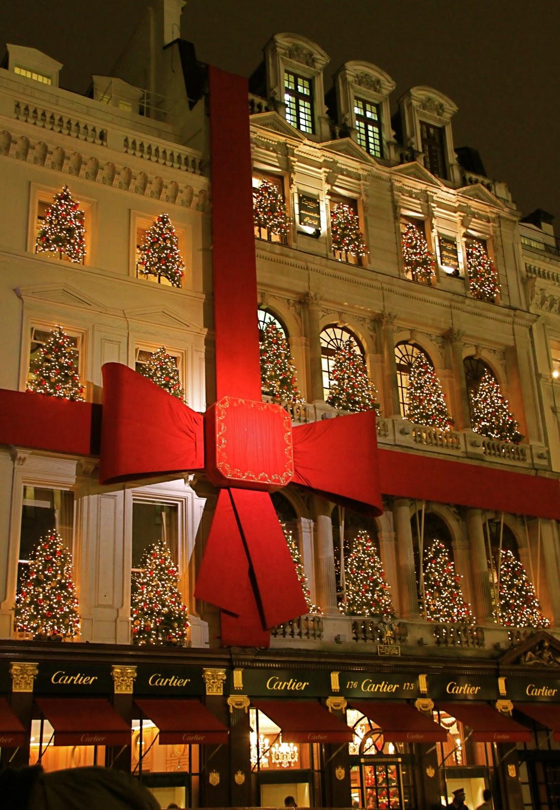 Pas grand-chose: London Christmas shopping
