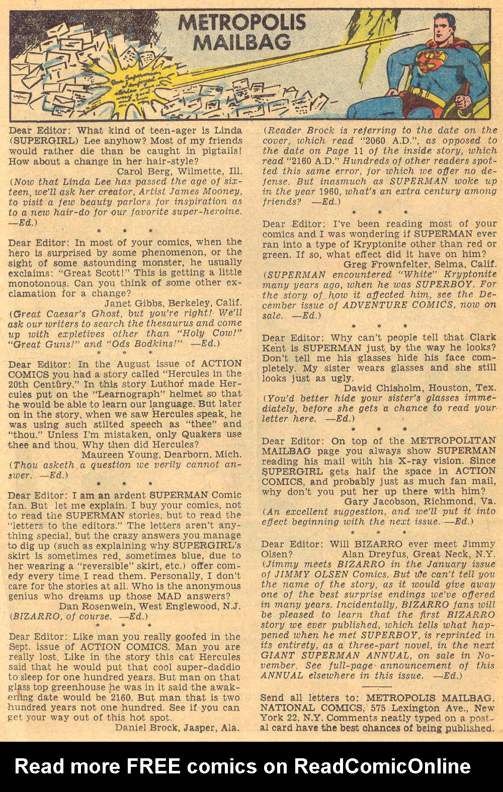Read online Action Comics (1938) comic -  Issue #271 - 16