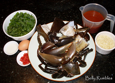Singapore Chill Mud Crab Recipe
