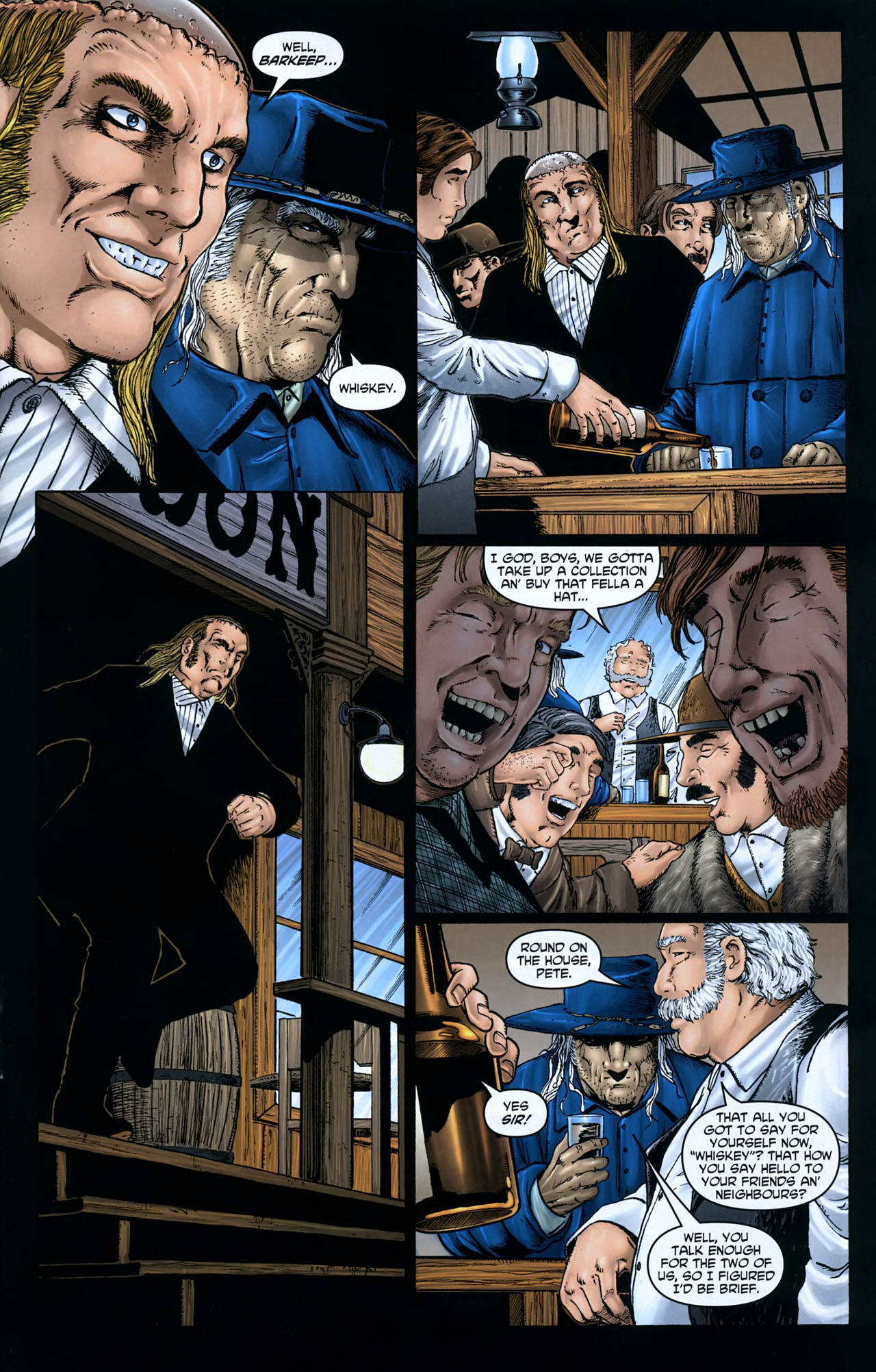Read online Garth Ennis' Streets of Glory comic -  Issue #5 - 5