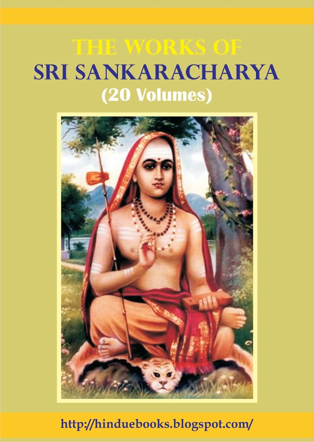 Complete Works of Sri Sankaracharya (Sanskrit) - 20 Volumes