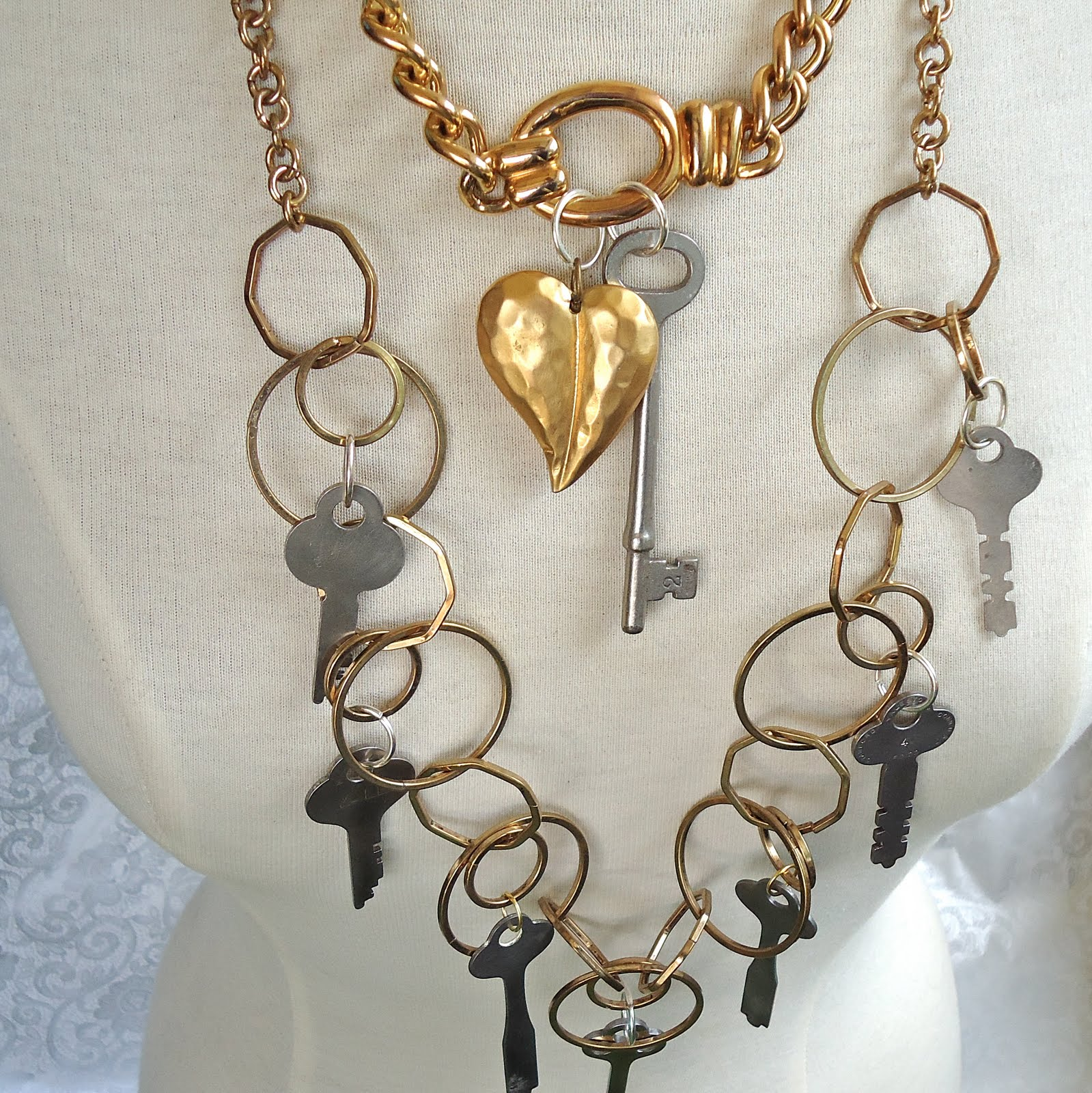 Open Heart Necklace Necklace Meaning