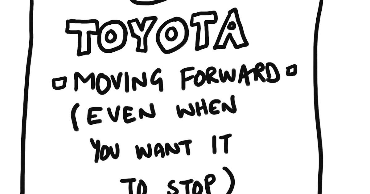 MacLeod Cartoons: Toyota Problems Again