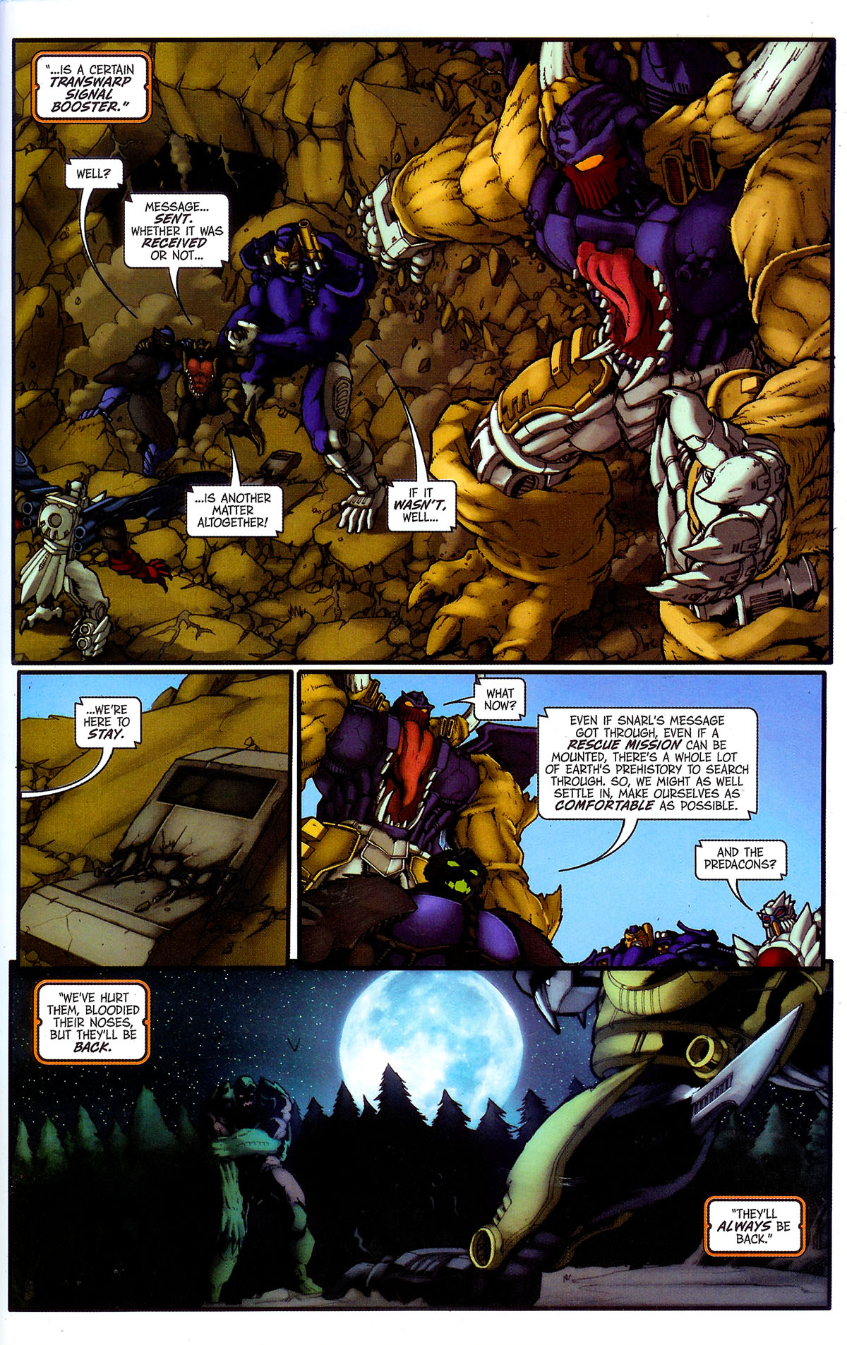 Read online Transformers, Beast Wars: The Gathering comic -  Issue #4 - 25