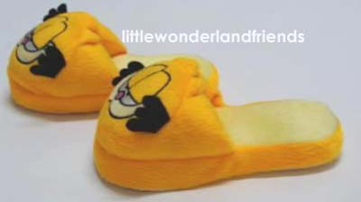 littlewonderlandfriends garfield cat children kids House Slippers Bedroom Slippers Clip Art