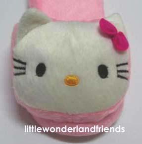 littlewonderlandfriends hello kitty children kids girls House Slippers House Slippers