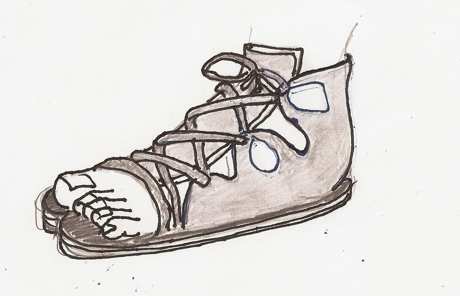 History Of Sandals: Shoe Styles Of Ancient Greece: Krepis