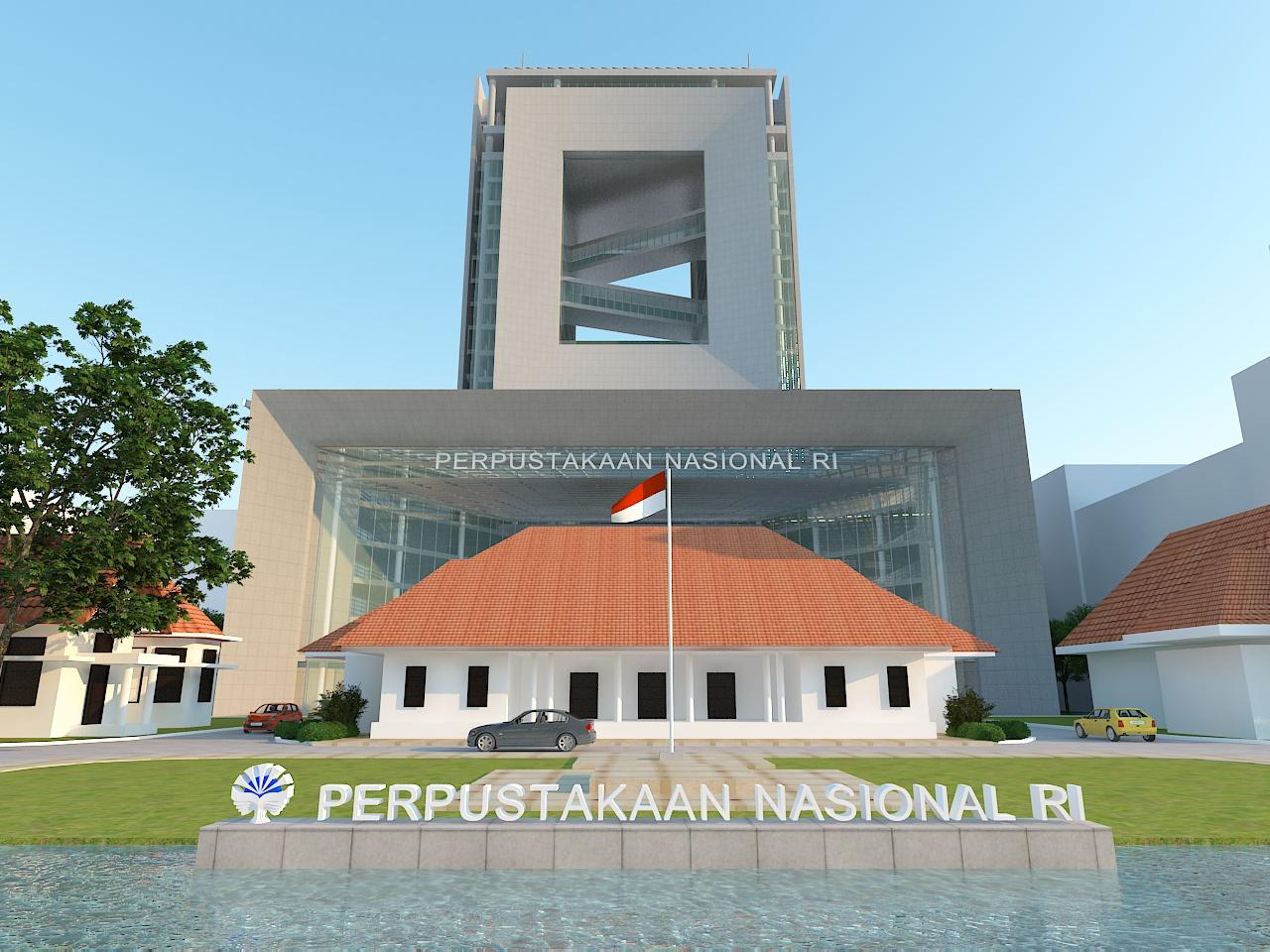 Diwangkoro Arsitek Perpustakaan Nasional Republik Indonesia