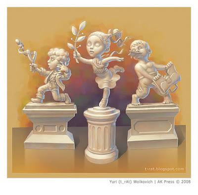 Обложка для книги Г. Остера Легенды и мифы лаврового переулка - Иллюстрация - Юрий (t_rAt) Волкович