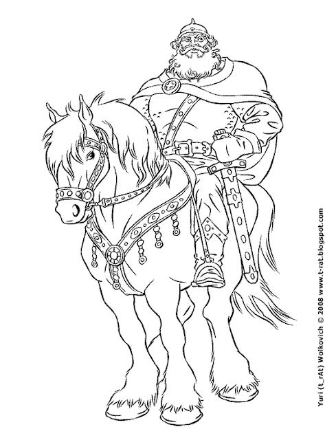 Илья Муромец - Иллюстрация - Юрий (t_rAt) Волкович