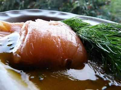 saumon mariné , suédoise , facile , aneth , gravad lax