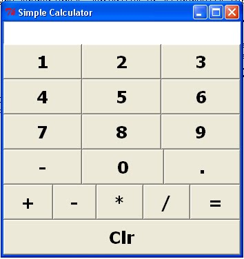 A Tkinter Calculator | python - more work in less code