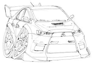 Indocart: Mitsubishi Lancer Evo X
