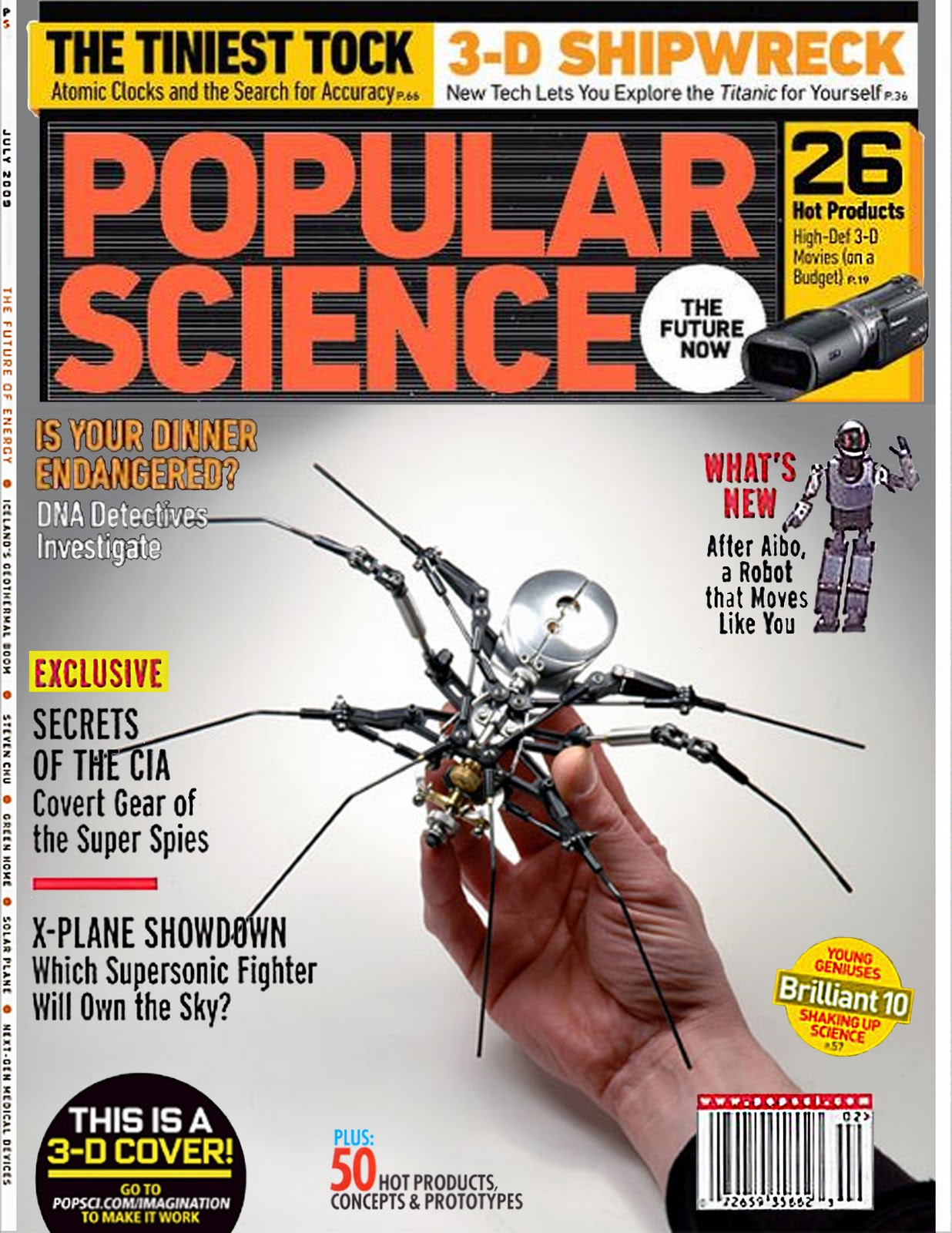 science magazine popular magazines bob covers scientific wired schrupp american competitors robotics apple