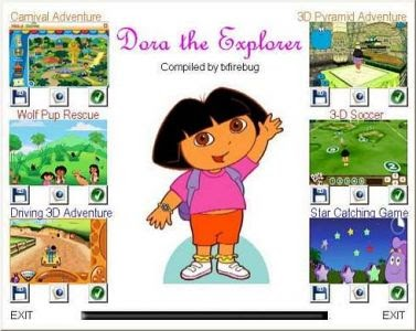 Dora The Explorer 6 In 1 Pc Games Free Download Game