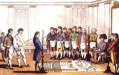 Initiation in the 18th century