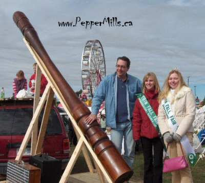 World's Largest Pepper Mill