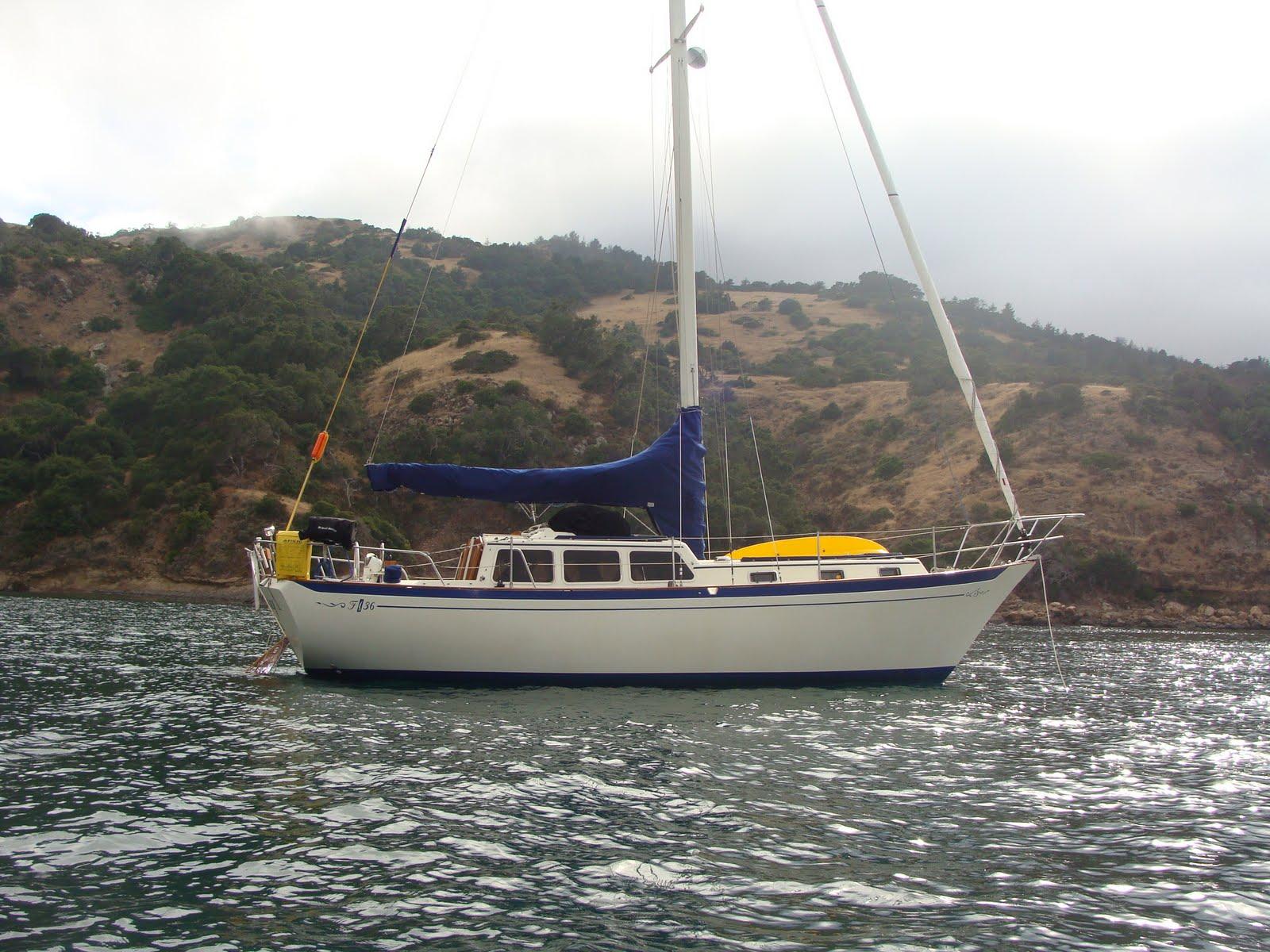 Spray - 1980 Islander Freeport 36: Santa Cruz Island Trip ...