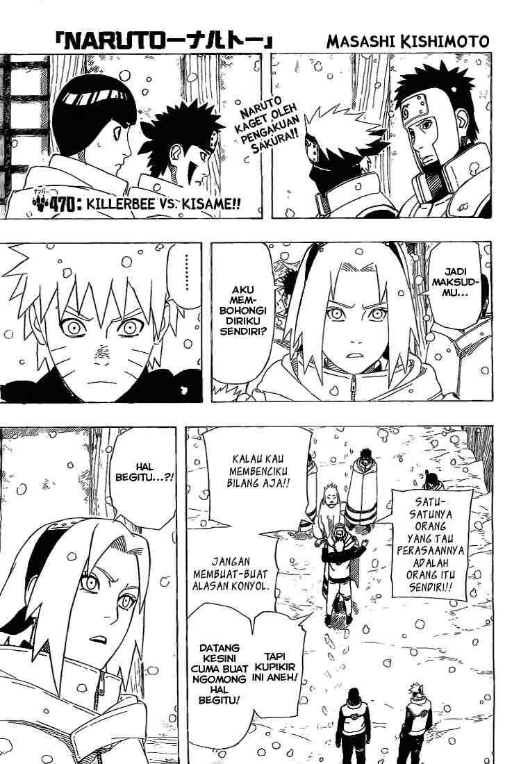 01 Naruto 470   Killerbee vs Kisame