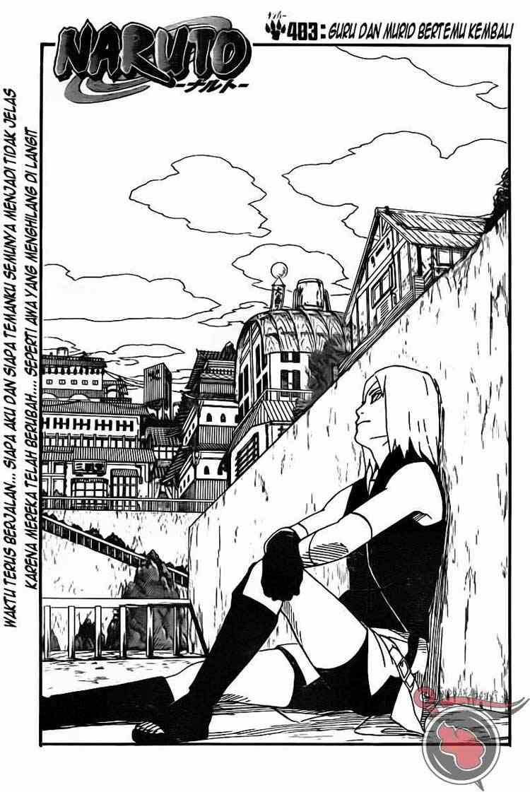 01 Naruto 483   Murid dan Guru Bertemu Kembali