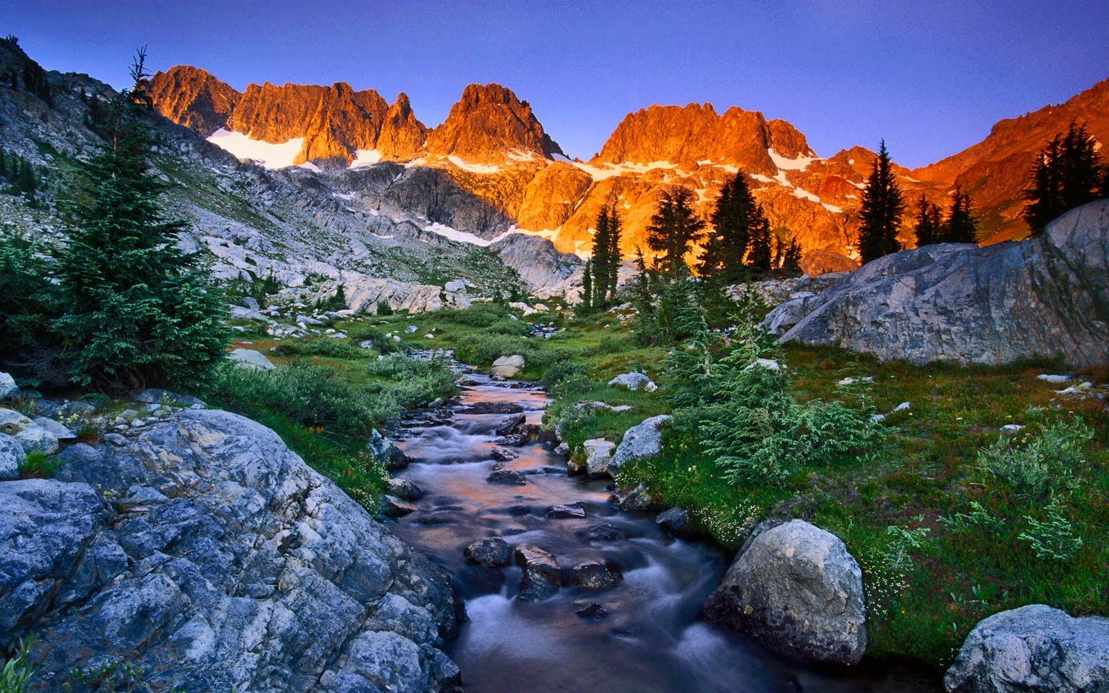 Mountain landscape 1920 x 1200 hd wallpaper - Hd wilderness wallpapers ...