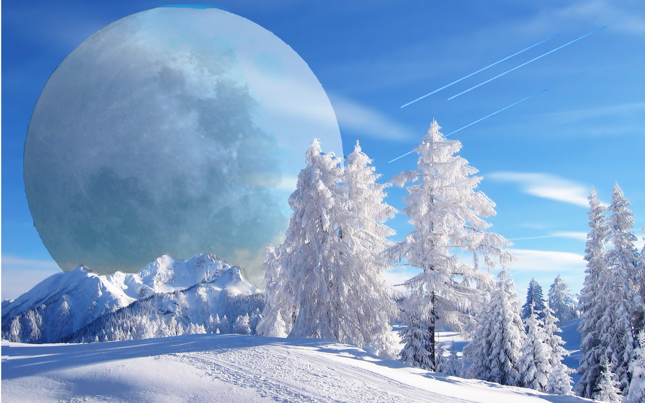 3d winter scenes wallpaper - photo #1