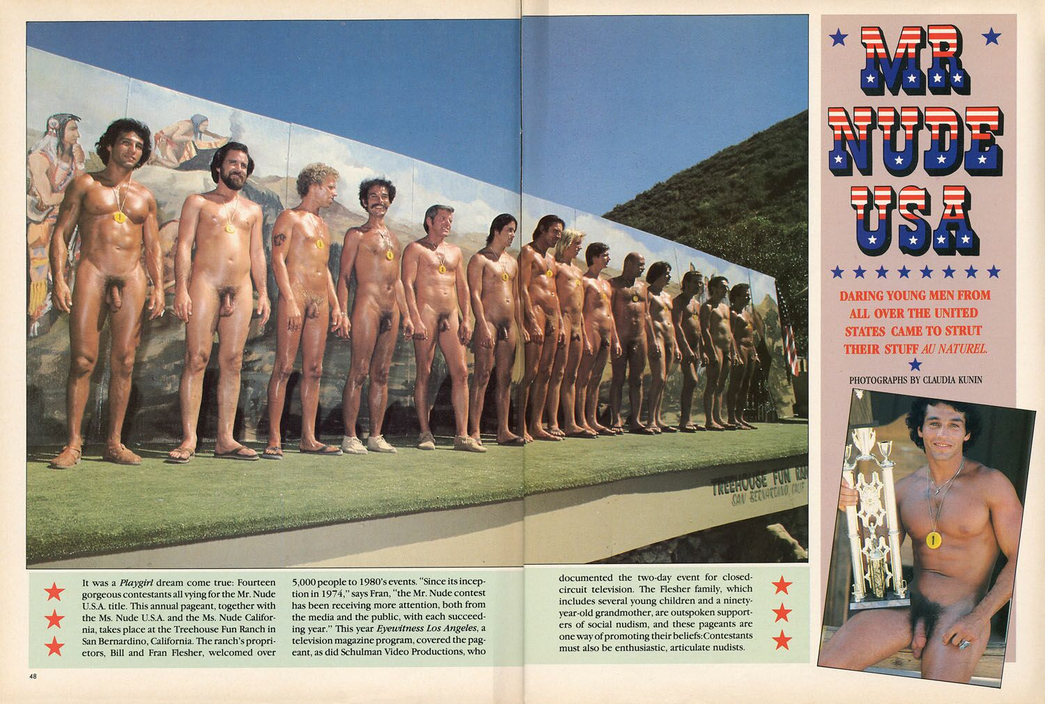 Mr Nude Pageant Video 93