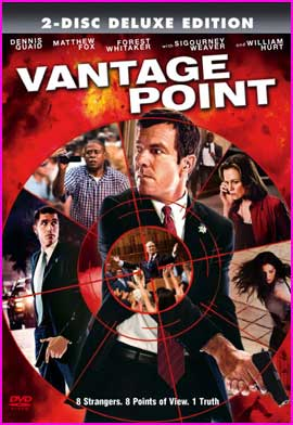 The Thriller Blog: DVD Cover - Vantage Point