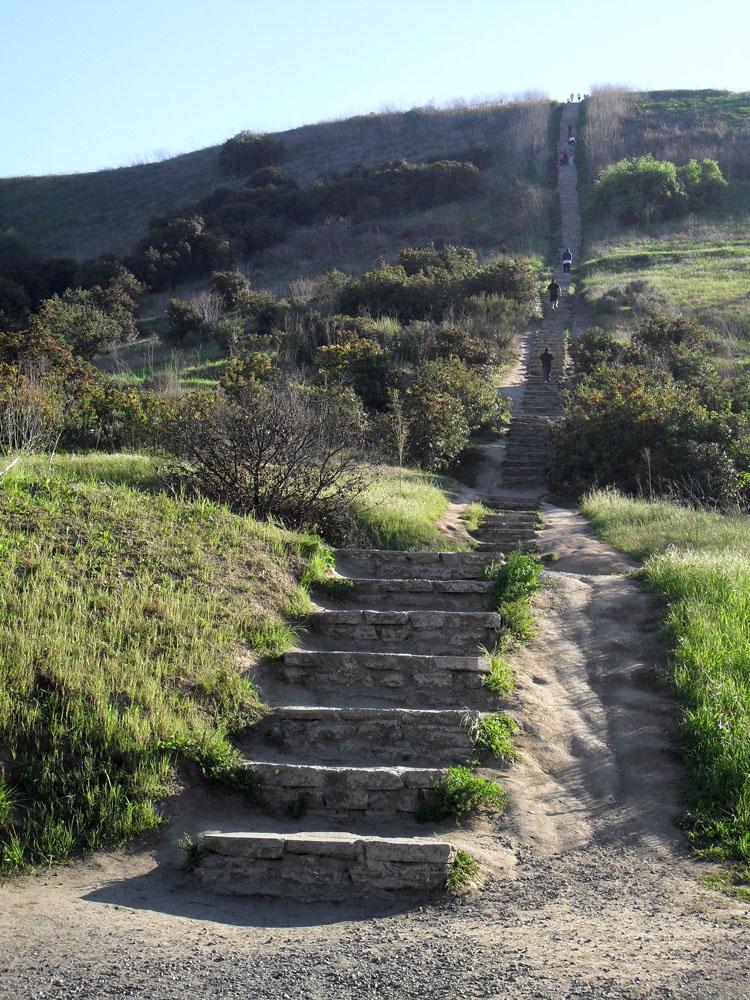 No Fixed Address Baldwin Hills Stairs