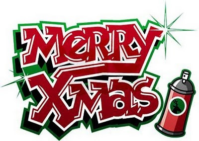 Graffiti Merry Christmas Free Christian Wallpapers