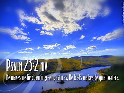 Psalm 23:2 Bible Quote