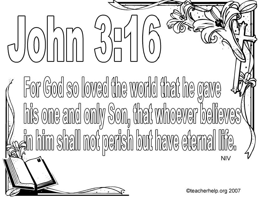 john 3 coloring pages   2011-01-02   Free Christian Wallpapers