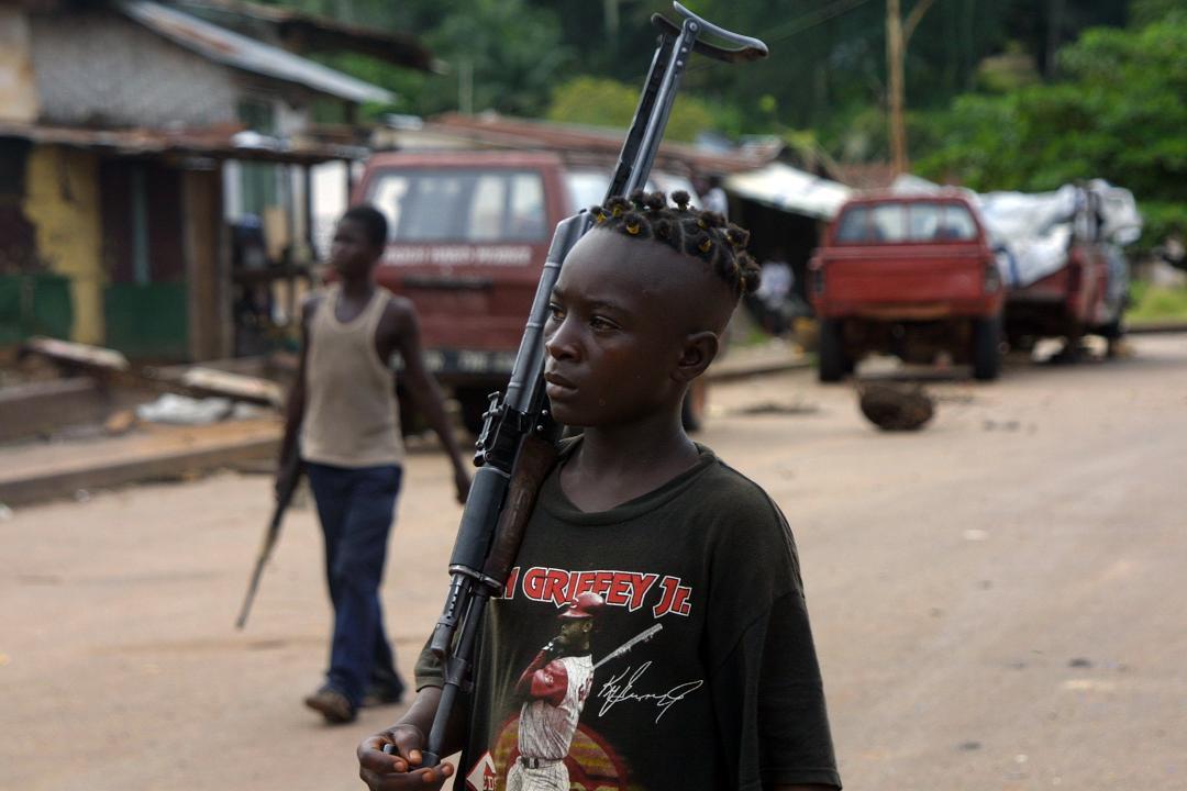 Herizal Alwi Gambar mengerikan Perang Saudara di Liberia