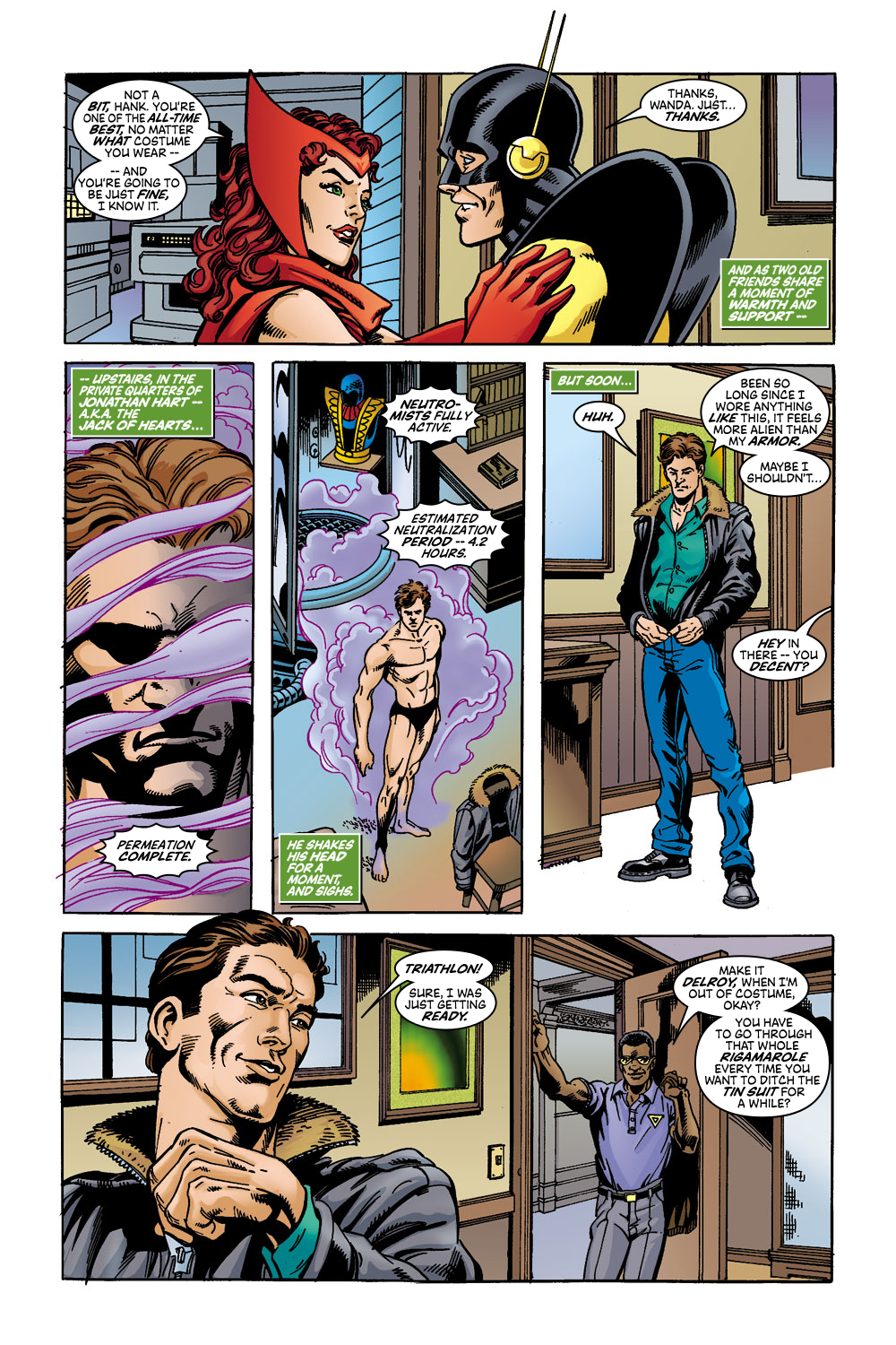 Read online Avengers (1998) comic -  Issue #45 - 10