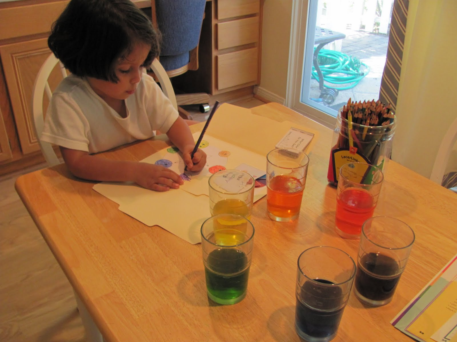 My Two Happy Homeschoolers Color Activity Secondary Colors