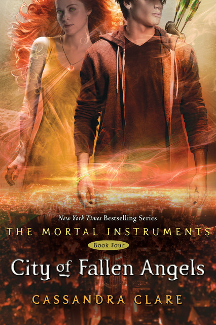 COVER REVEAL!! City of Fallen Angels by Cassandra Clare