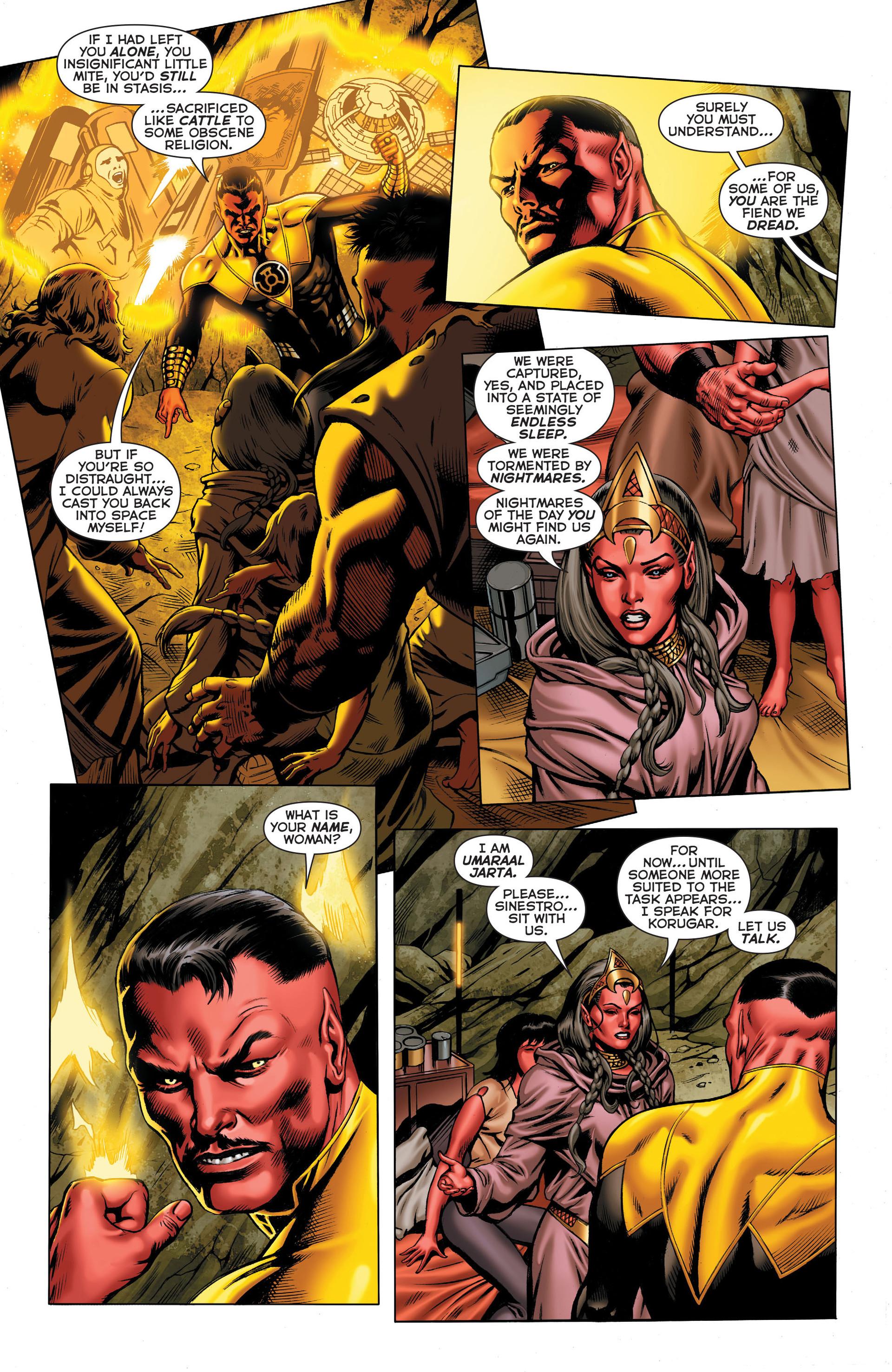Read online Sinestro comic -  Issue #3 - 7