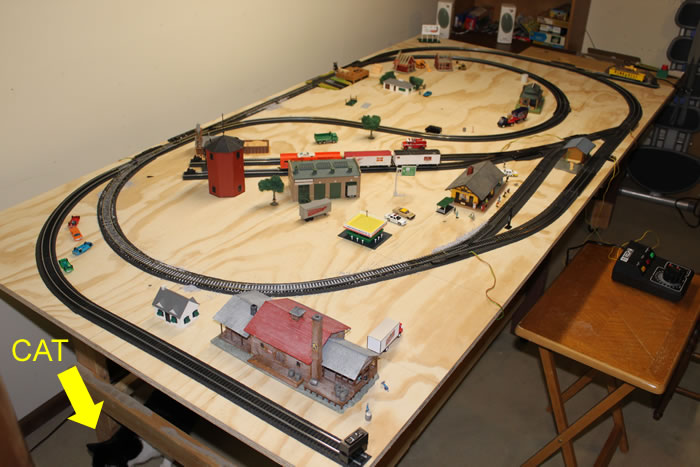 De Modeler: PDF Model train track layout table