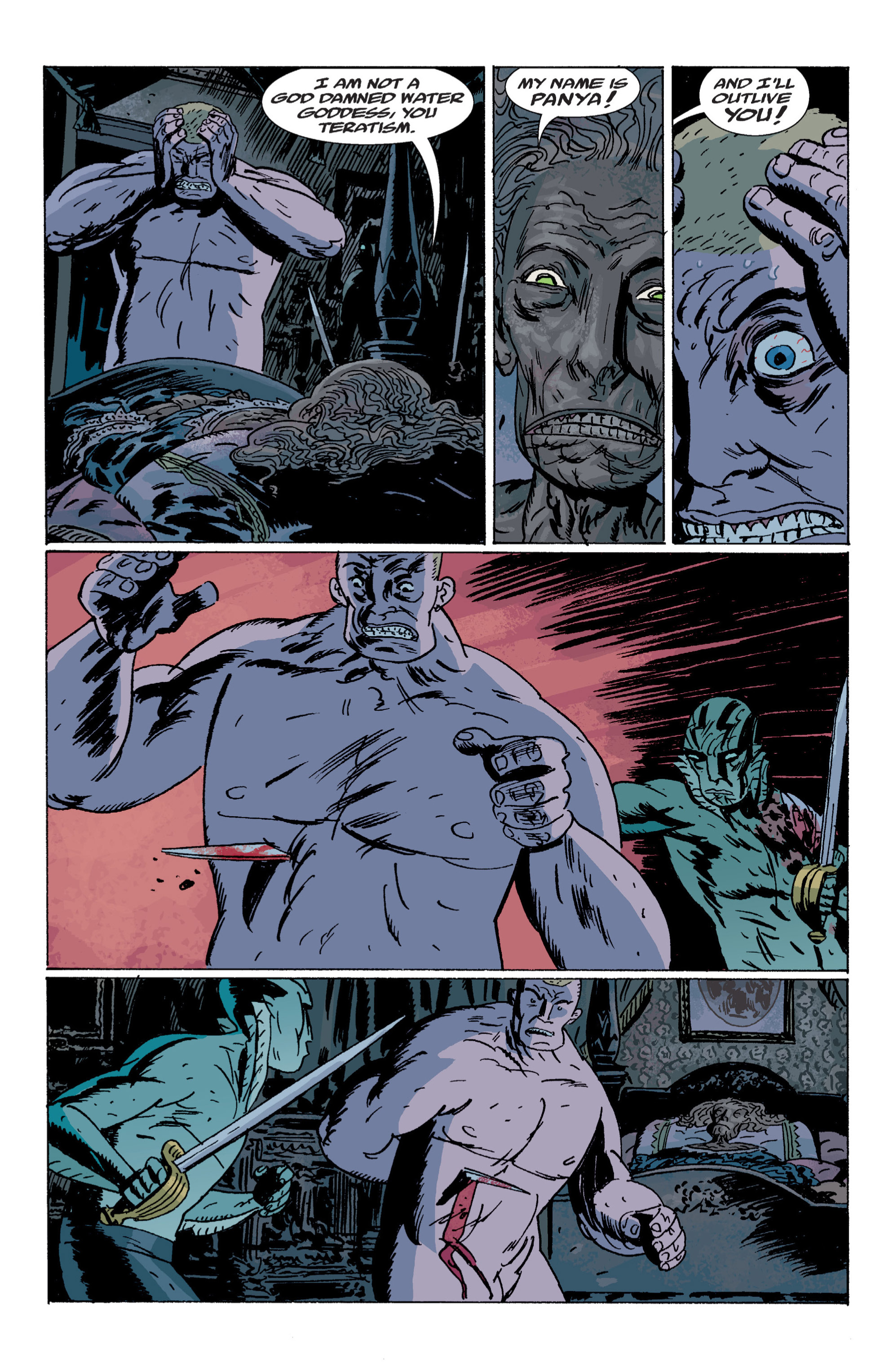 Read online B.P.R.D. (2003) comic -  Issue # TPB 7 - 131
