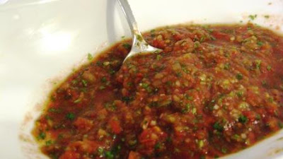 Fast and easy blender salsa