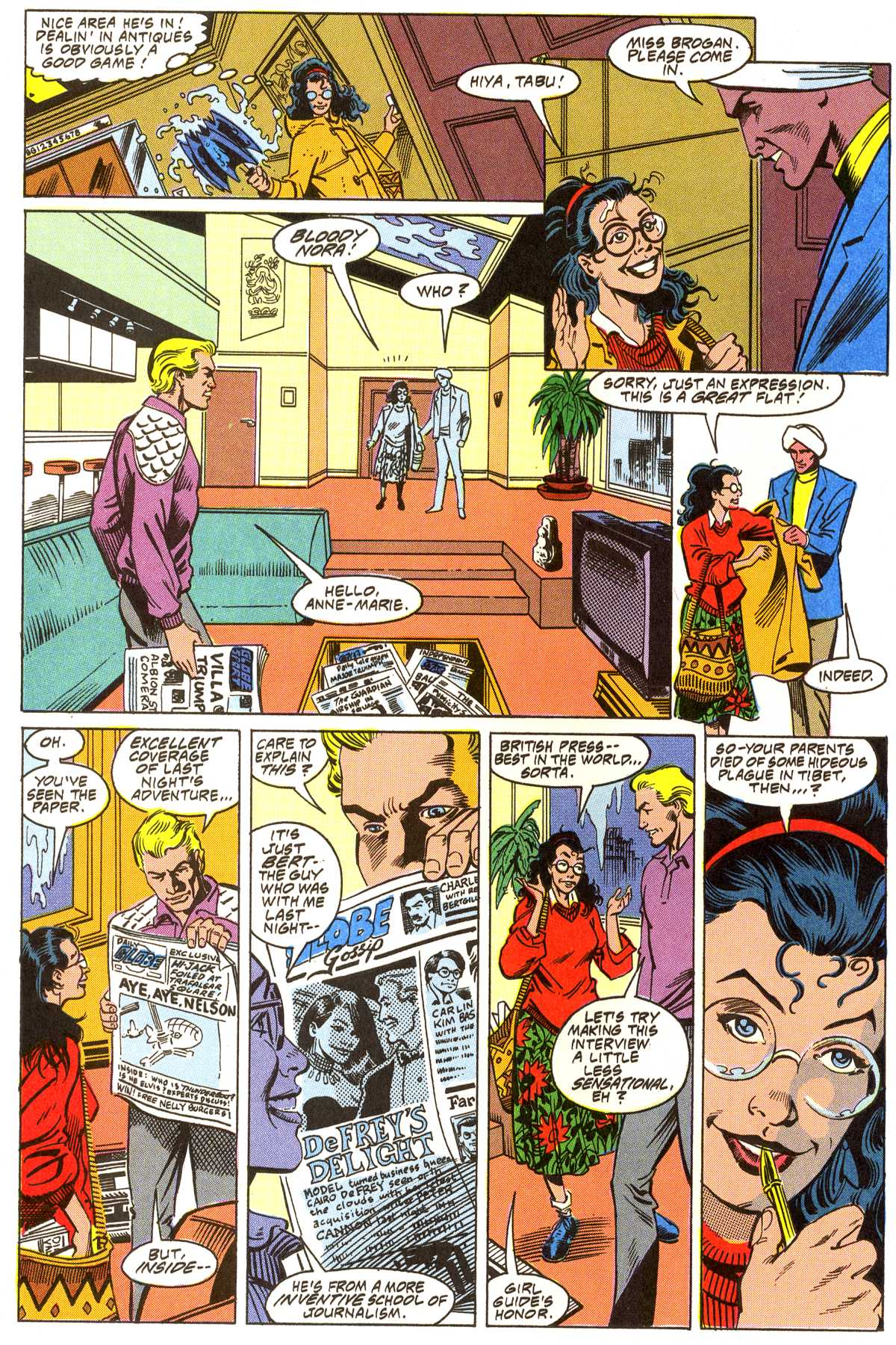 Read online Peter Cannon--Thunderbolt (1992) comic -  Issue #3 - 7