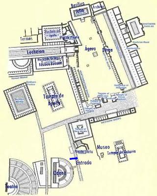 Plano de Ancient Corinto