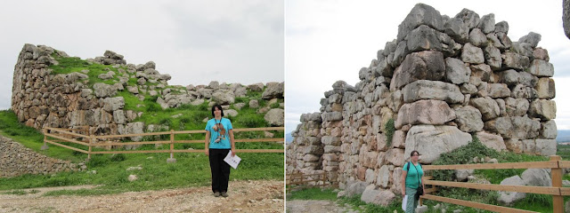 Murallas ciclópeas en Tirinto