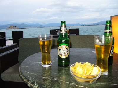 Cervecitas en Nauplio