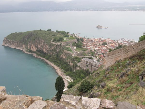 Vistas desde la fortaleza Palamidi