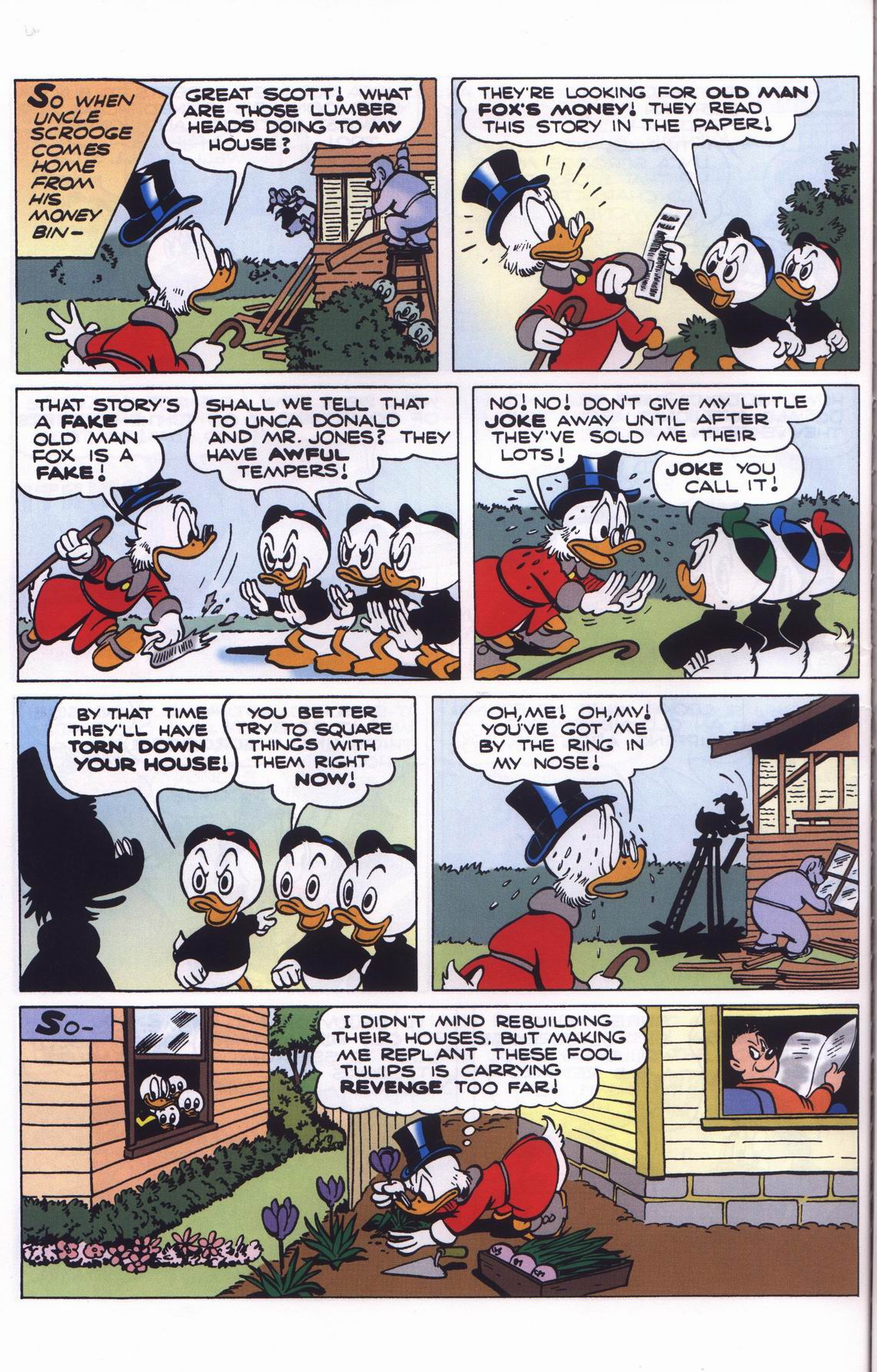 Read online Uncle Scrooge (1953) comic -  Issue #311 - 64