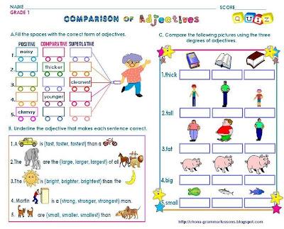 English Grammar Worksheets - English Lessons