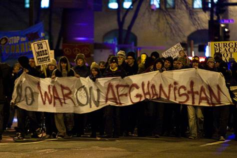 No WAR on Afghanistan