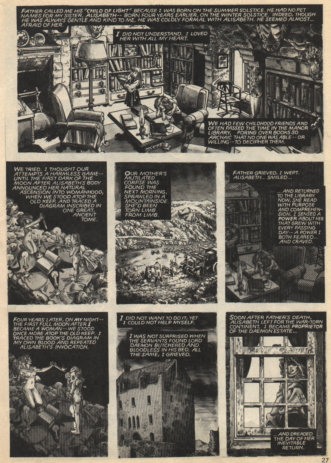 Bizarre Adventures (1981) issue 25 - Page 27